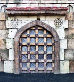 Ворота средневекового замка
