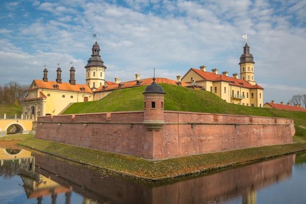 ベラルーシ、ニャスヴィシュの中世の城