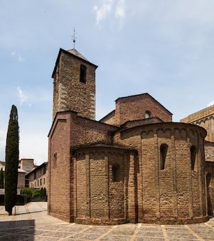 Medieval church  in la seu d'urgell