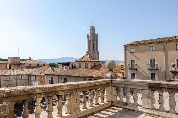 The medieval quarter of girona, spain