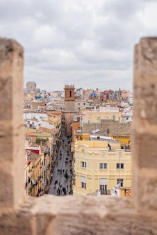 Medieval tower in valencia