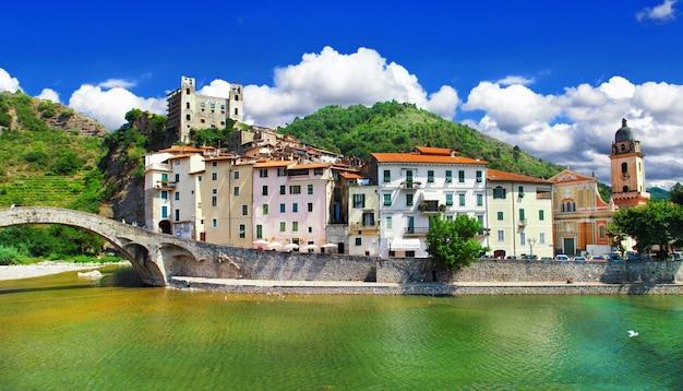 Средневековые деревни италии, дольчеаква, лигурия