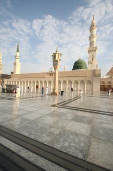 메디나 ksa에 있는 예언자 무하마드의 메디나 모스크