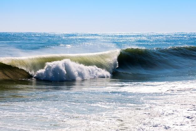 Mediterranean wave during storm