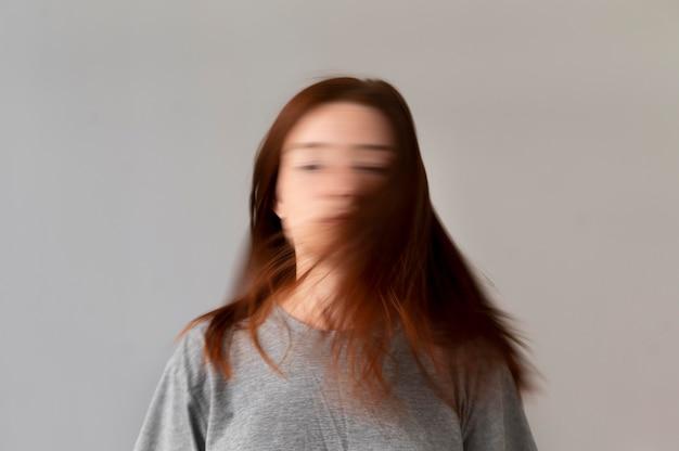 Concetto di ansia a colpo medio