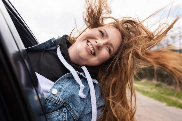 Medium shot woman smiling