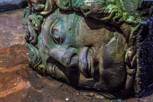 Medusa, basilica cistern istanbul
