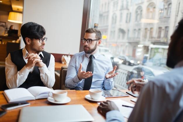 Meeting of businessmen