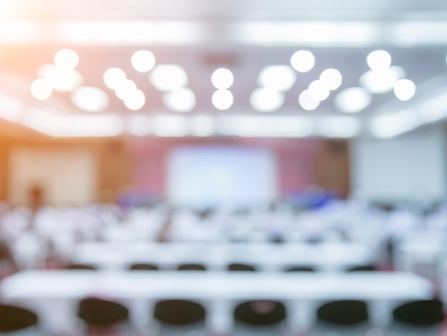 Meeting room blur