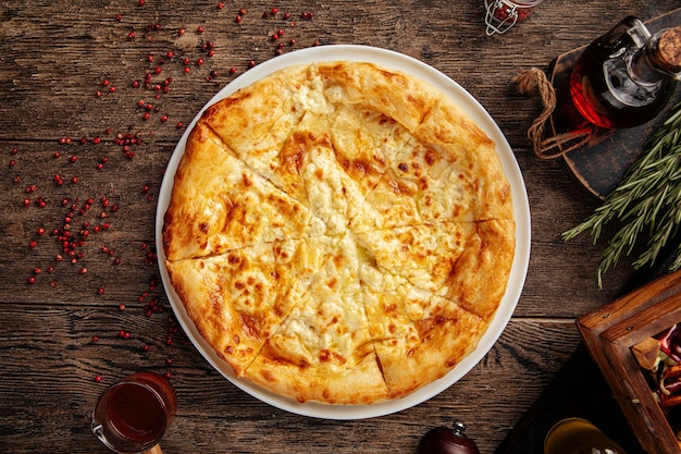 Мегрельские лепешки с сыром хачапури
