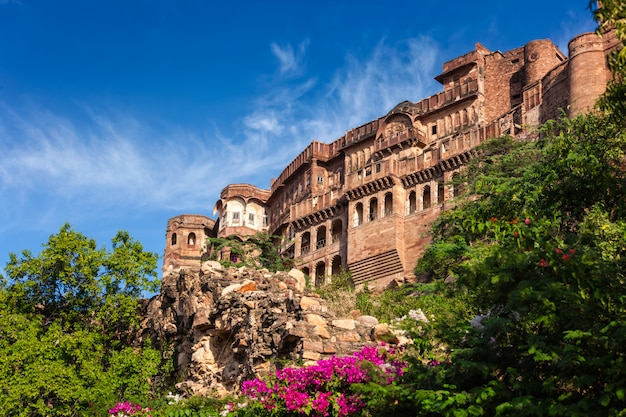 Mehrangarh fort. jodhpur, india