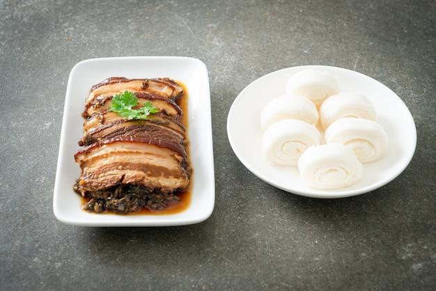 Мэй кай коу роу или рецепты из свинины на пару с горчицей сватоу - китайский стиль еды