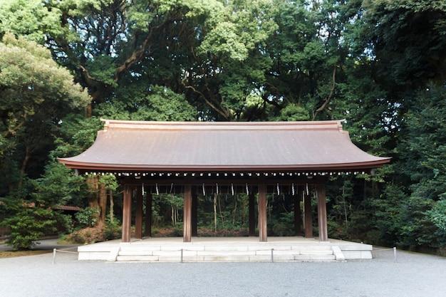 明治神宮と木、東京