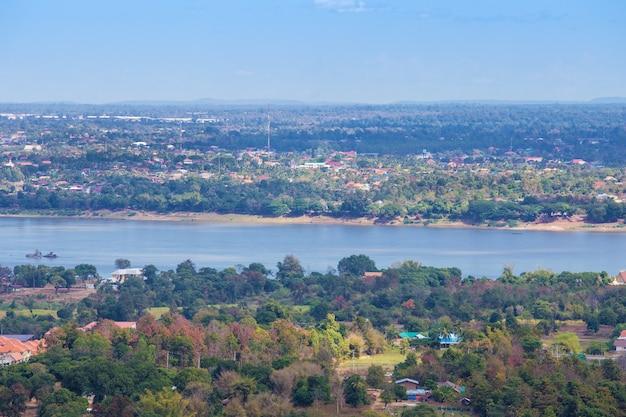 Mukdahan, 태국에서 메콩 강