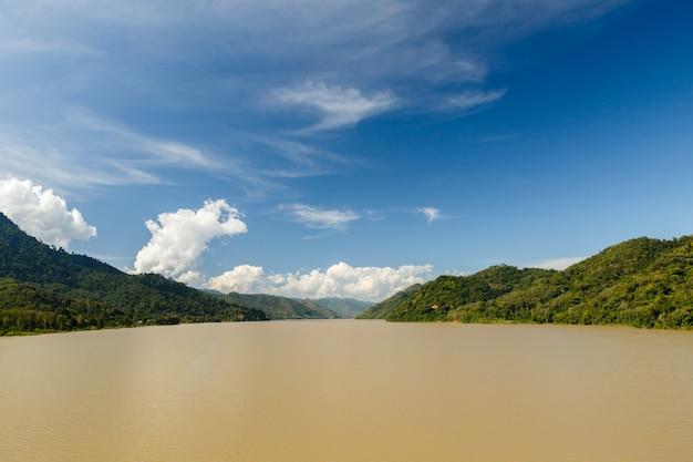 Mekong river, laos