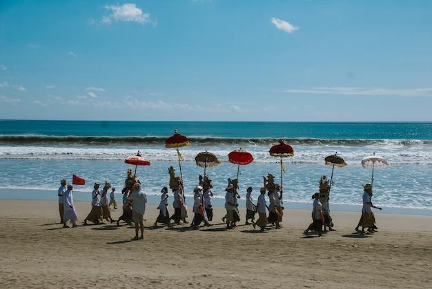 Меластийская церемония на бали