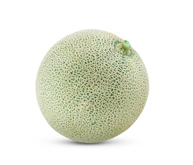 Melon  isolated on white. full depth of field