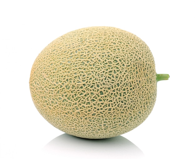 Melon on white isolated