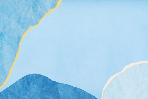 Мемфис узорчатый синий бумажный фон