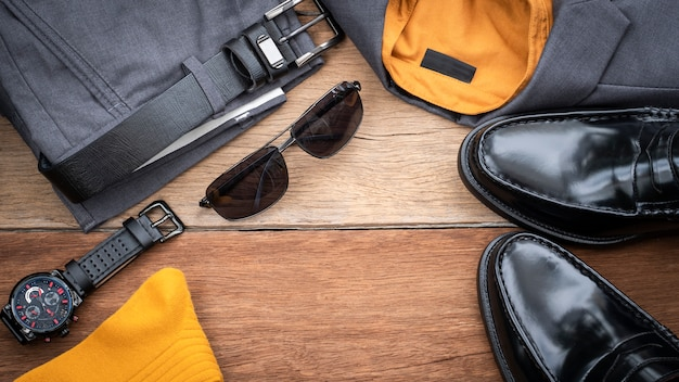 Men fashion casual clothing set
