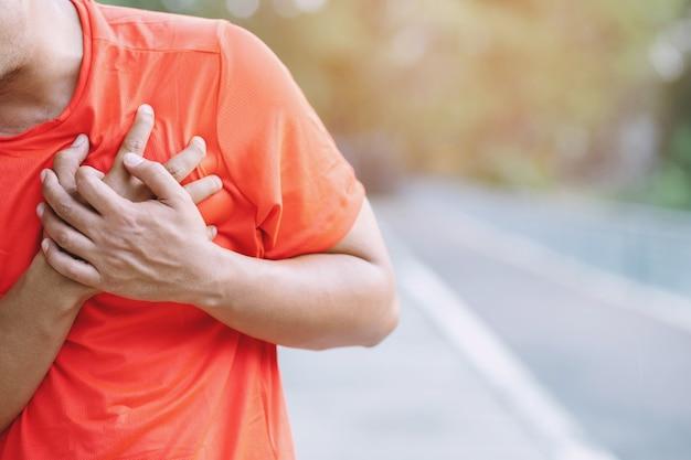 Men have heart disease
