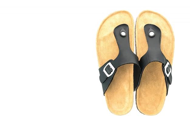 남성 가죽 샌들 및 플립 플롭 신발