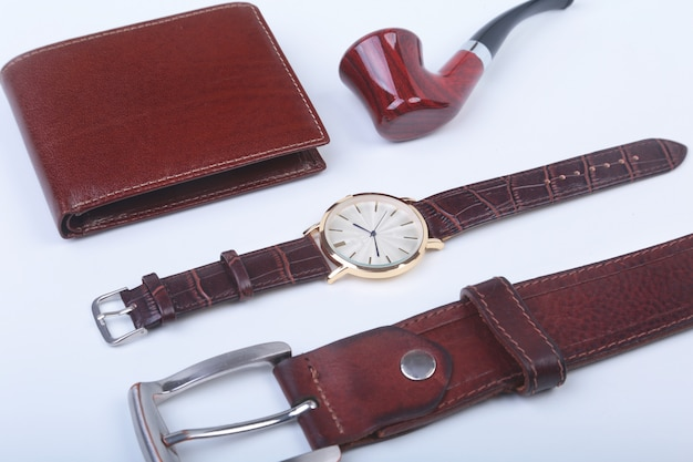 Men's accessories for business and recreation.
