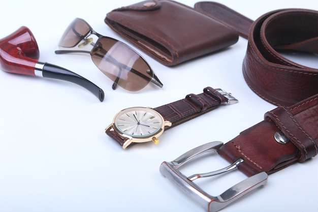 Men's accessories for business