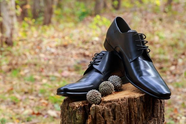 Туфли мужские кожаные черные кожаные праздничные, чистые, вечерние, темные