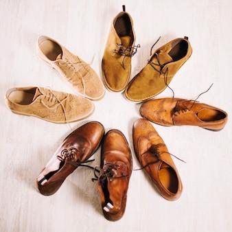 Stivali da uomo in cerchio
