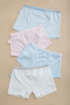 Men's panties shot against a close-up background