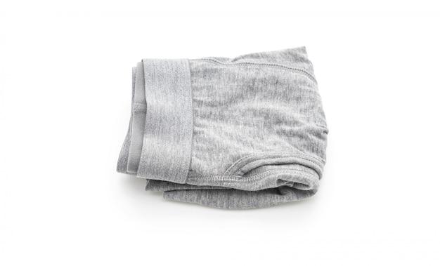 Men underwear on white background