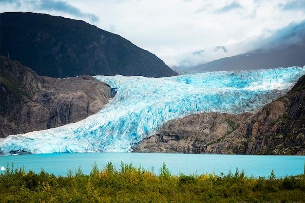 アラスカの氷河、mendenhall氷河