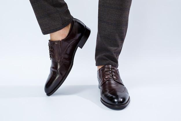 Мужская классическая обувь с натуральной кожей мужская обувь под классический костюм