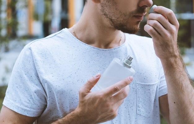 Mens perfumery