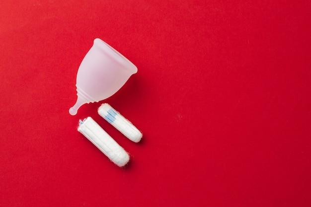 月経カップと医療用タンポン