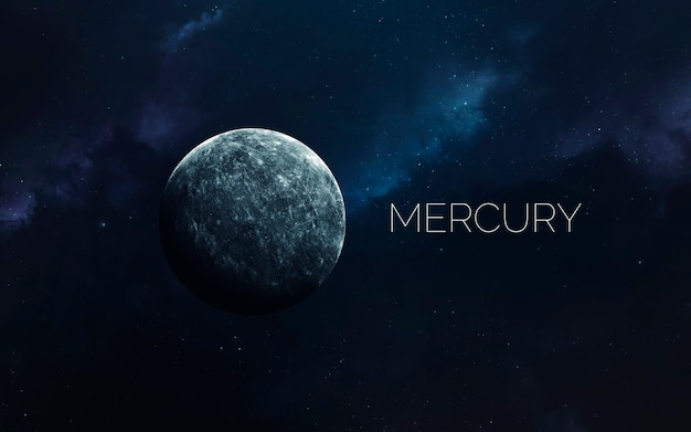 Mercury in space