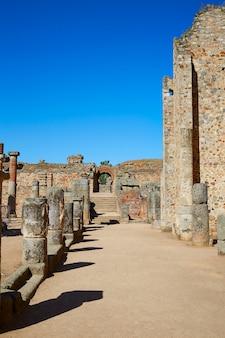 Merida in badajoz roman amphitheater spain