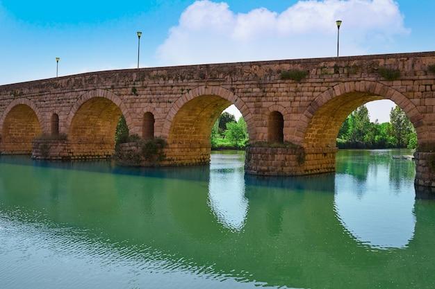 Merida in spain roman bridge over guadiana