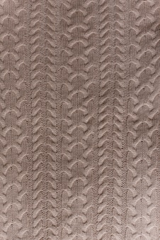 Merino wool handmade knitted large blanket
