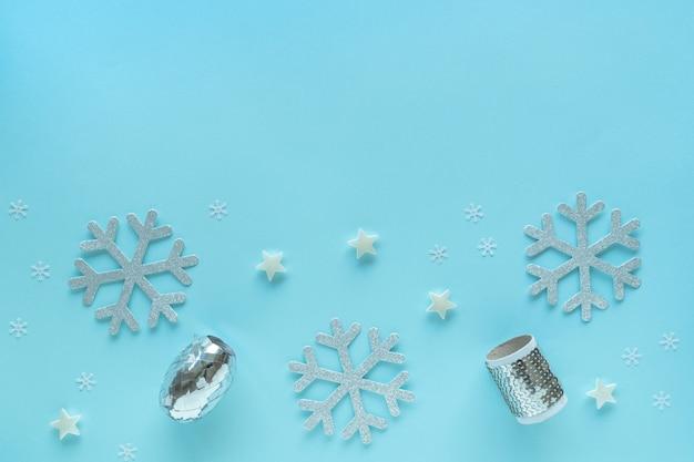 메리 크리스마스와 해피 홀리데이 인사말 카드, 프레임, 배너, 평면 누워. 새해. 크리스마스, 노엘