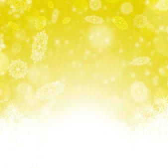 С рождеством христовым фон со снегом. зимний праздник снег синий фон со звездами ans снег. аннотация расфокусированным размытым светящийся фон. боке