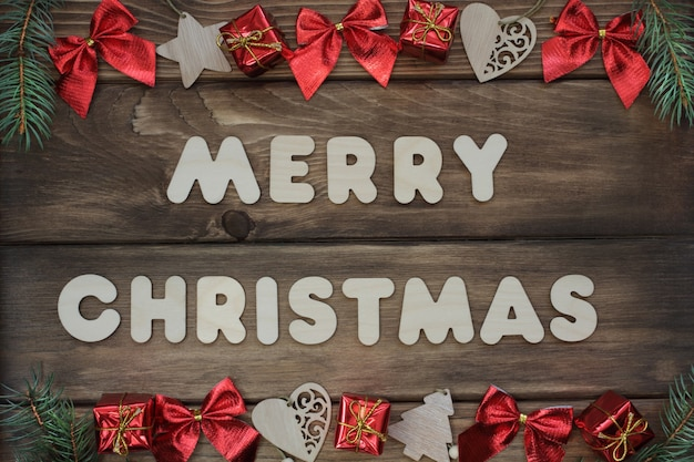 Merry christmas banner zero waste winter concept