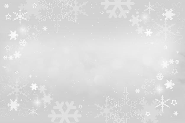 メリークリスマスボケと星の背景