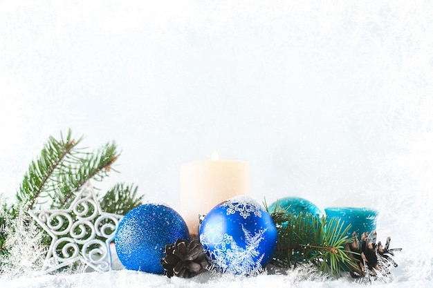 Merry christmas and happy new year christmas decoration banner for sale or greeting card