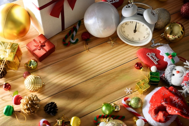 Merry christmas and happy new year concept other decoration