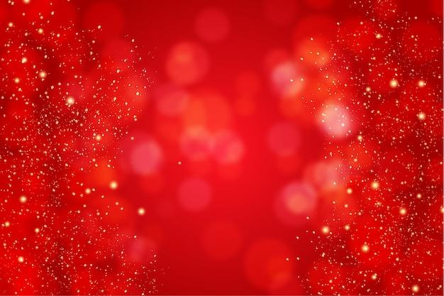 Buon natale sfondo rosso