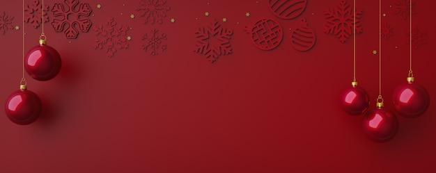 Счастливого рождества с элементами рождества 3d визуализации