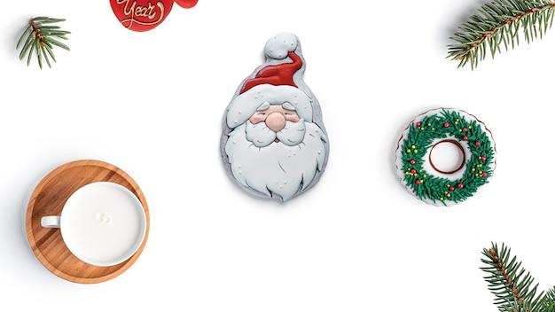 ジンジャーブレッドクッキーとメリークリスマス。