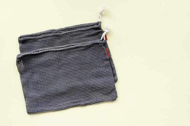 Сетчатые эко-сумки для покупок фруктов и овощей